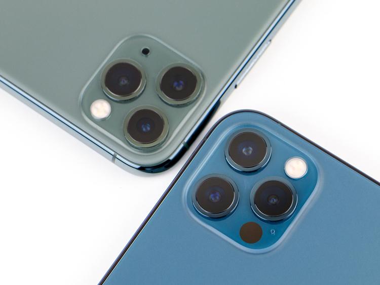 Сравнение камер iPhone 11 и iPhone 12