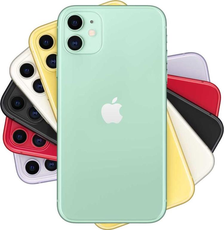 Сравнение размеров iPhone 11 и iPhone 12