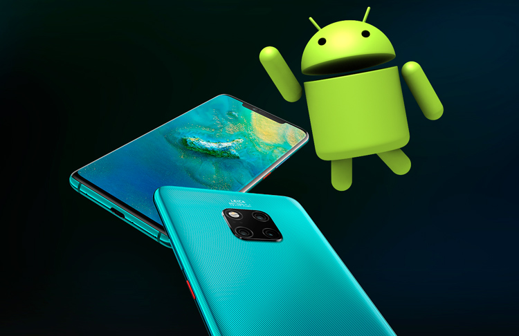 Какие смартфоны Huawei получат Android Q