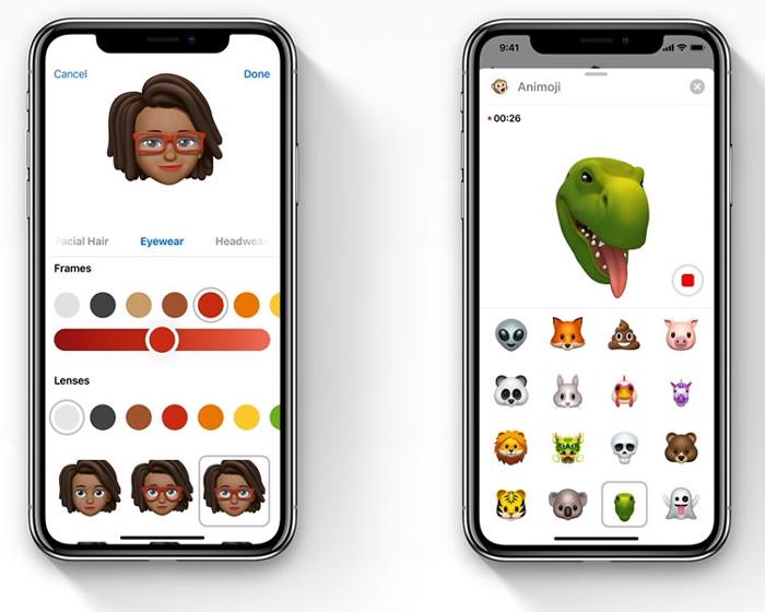 iOS - возможность создавать собственных персонажей Memoji