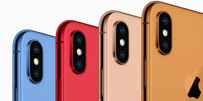 Новые цвета iPhone 2018