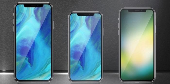 Линейка Apple iPhone 2018