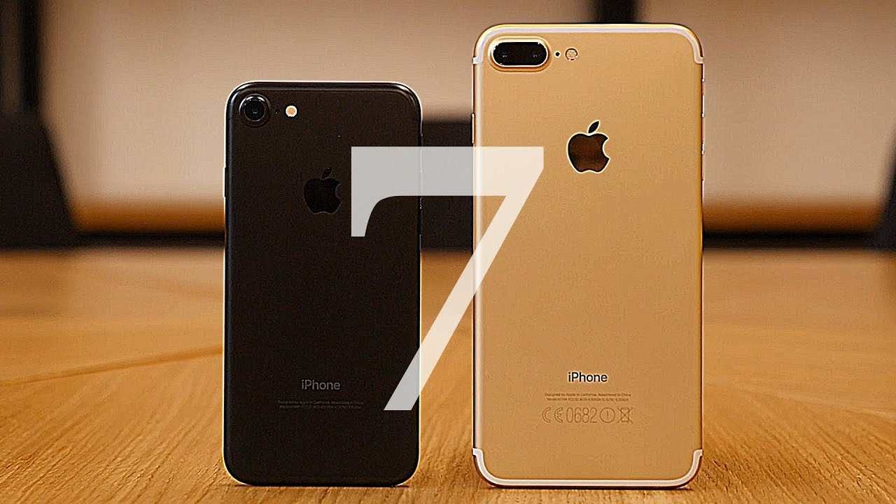 Айфон 7 vs Айфон 7 Плюс