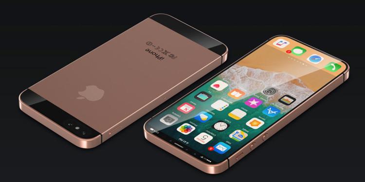 Неофициальный концепт Apple iPhone SE 2