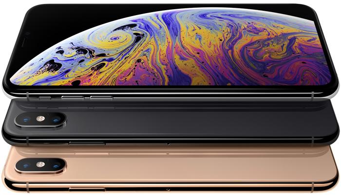 iPhone XS - три цвета