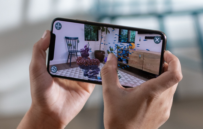 iPhone XS - дополненная реальность
