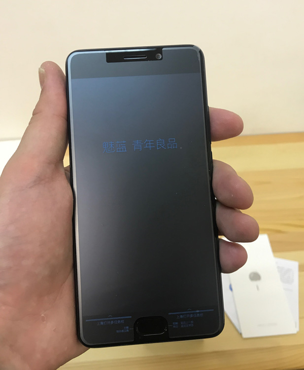 Meizu M6 Note - фронтальная панель