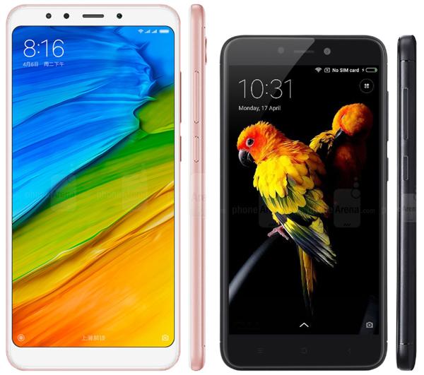 Xiaomi Redmi 5 или 4X - что выбрать
