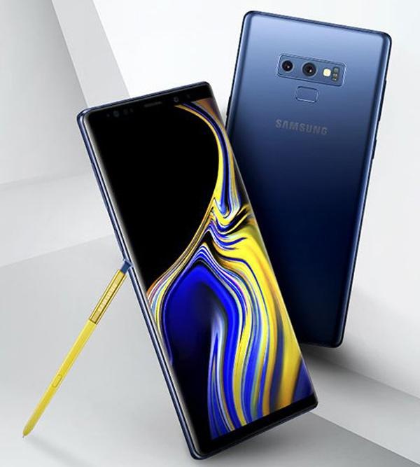 Samsung Galaxy Note 9 - официальное изображение